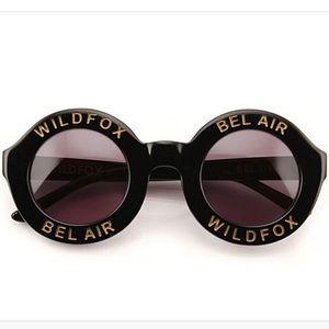 Black Wildfox Bel Air Sunglasses! 🕶